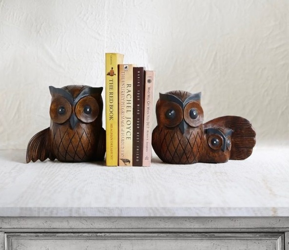 Owl Book Ends Design Gift For Book Lovers Id640 Home