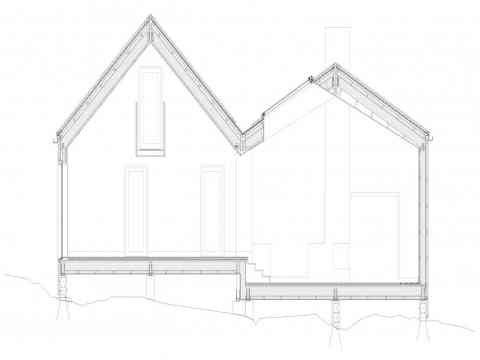 Architecture Plan Vega Cottage Norway