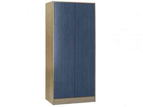 Ash Grains Two Door Wardrobe Design
