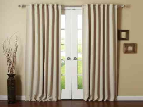 Beautiful Cream Curtain Design