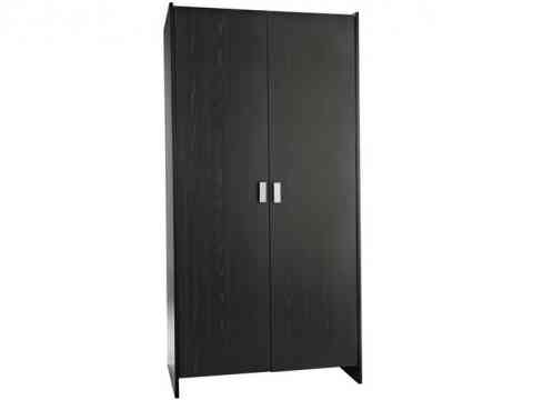 Black Polish Ash Grains Wardrobe Design