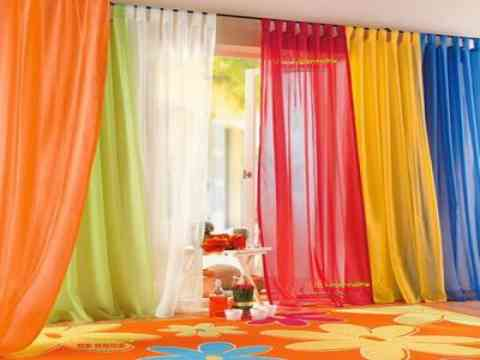 Colorful Blinds Design