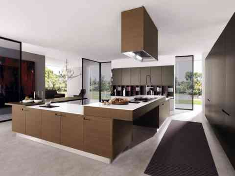 Contemporary Kitchen Cabinet Layout Design