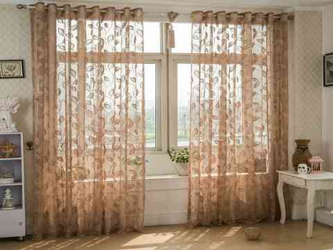 Curtain Sheer Voile Fabric