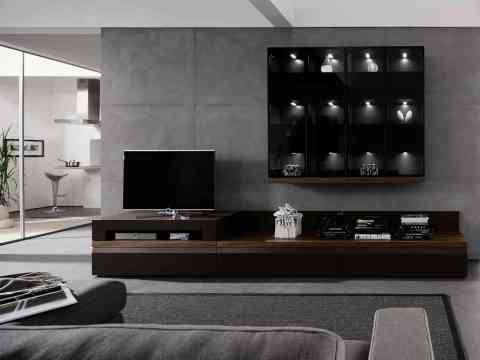 Delightful Interior Design For LCD Cabinet