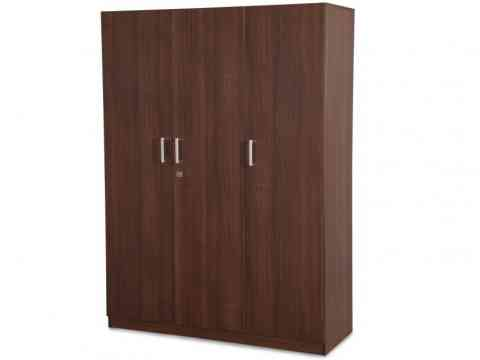 Free Standing Three Doors Wardrobe Design