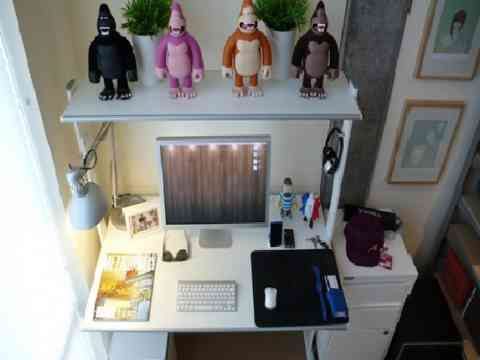 Home Computer Desk Gorilla Collection Design