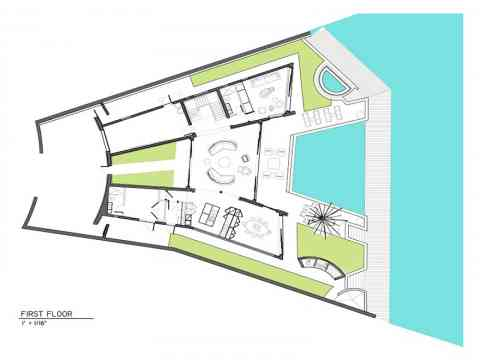 Home Plan Bonaire Netherlands Antilles
