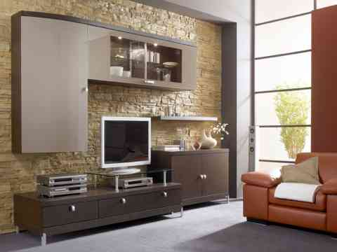 Modern LCD Cabinet Design For Living Room