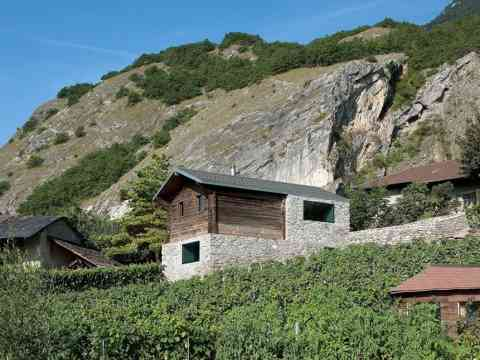 Natural Cliffs Cottage Remodel In Switzerland