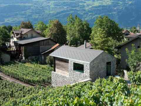 Natural Stone House Remodel In Switzerland