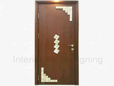 Simple Door And Wood Design