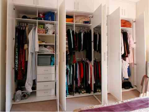 Useful Organized Wardrobe Design