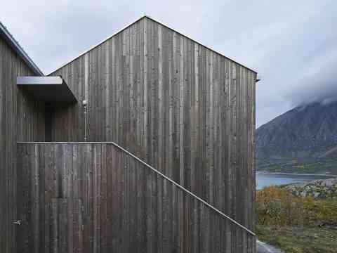 Wood paneling Cottage Norway