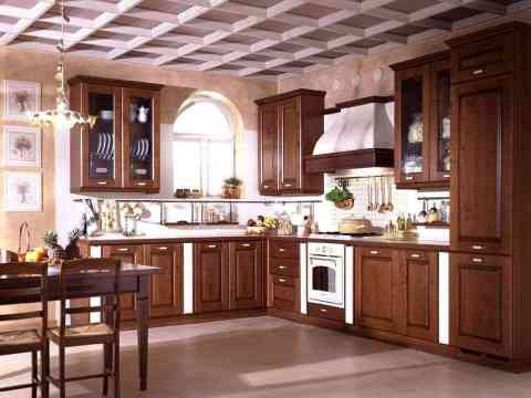 Wooden Kitchen Cabinet Design Beautiful Ceiling