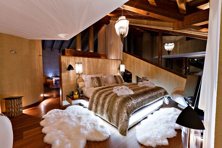 Six Star Luxury Chalet Bedroom Deign