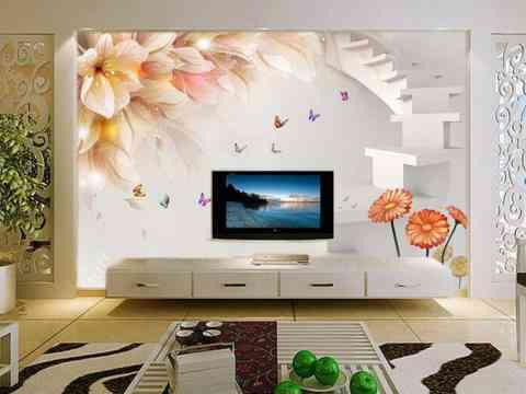 LCD Cabinet Wall Designs