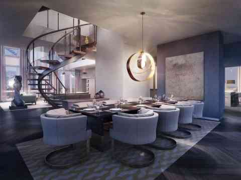 Modern Luxury Dining Room Design