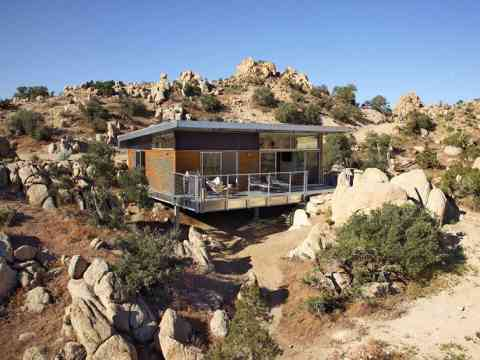 /Rock Reach House Mojave Desert California